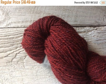 Yarn sale Peace Fleece Amaranth worsted weight knitting yarn - crimson wool yarn worsted - yarn for knitting - yarn shop - wool felting yarn