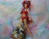 Art Doll, Fantasy Art, Doll Figures, Altered Doll,  Recycled Doll  by mystic2awesome