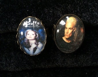 Buffy the Vampire Slayer - Season One- Adjustable Ring / Spike Adjustable Filigree Ring
