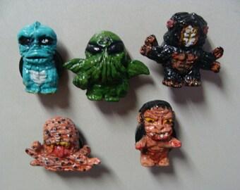 Lovecraftian Monsters  Refrigerator Magnet Set( Cutie Style/Fullbody)