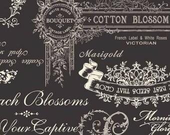 Natural Tone Cotton/Linen Blend  RU2240-11E Quilt Gate Cotton Linen Fabric