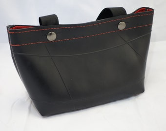 Recycled Rubber Handbag 2 straps