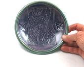 Raku Keramik Schmetterling Fee Schale