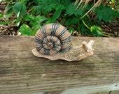 Concrete Snail Garden Statue Yard Figurine