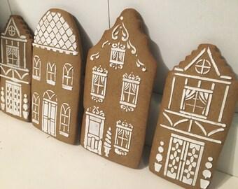 Christmas Gingerbread Cookies  - 1 Dozen