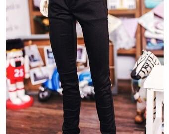SD17 Boy Color Sknny Pants - Black