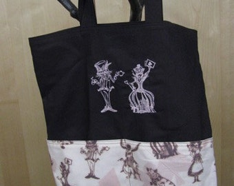 Alice in Wonderland Eco Friendly Tote Bag, Purse, Shopping Bag