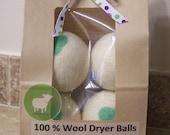 Greener 4 Ewe - Wool Dryer Balls - Fabric Softener Alternative