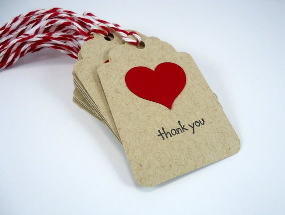 Wedding Favor Tags With String : wedding favor tags, Valentines Day tags, heart gift tags with string ...