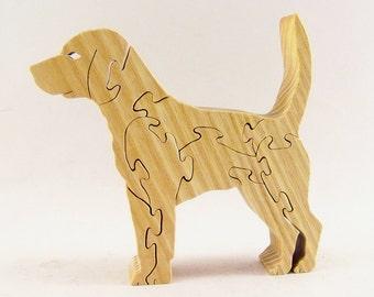 Beagle Dog Wood Puzzle