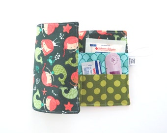 First Aid Kit - Mermaid - emergency kit first aid pouch medicine bag