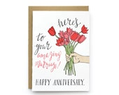 amazing marriage - single card