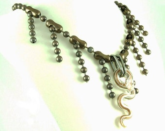 Slither Snake Necklace  (BoyJewels)