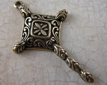 Cross Religious Jewelry Supplies Bronze Crosses Inspirational Supplies SCO24