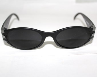 1 Rare ADIDAS  Sunglasses NOS 80s 90s Made in Austria by Masters model A319 Silver & Black