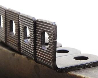 10 metal angle brackets Vintage Hardware