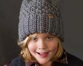 CROCHET HAT PATTERN Brighton Alpine Ski Hat Sizes Newborn to Adult