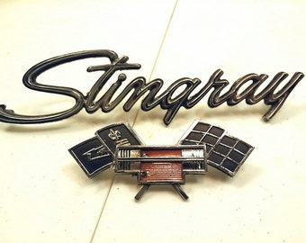 Collection of Old Car Emblems
