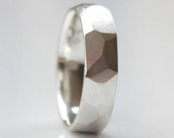Mens Wedding Band Mens Modern Wedding Ring