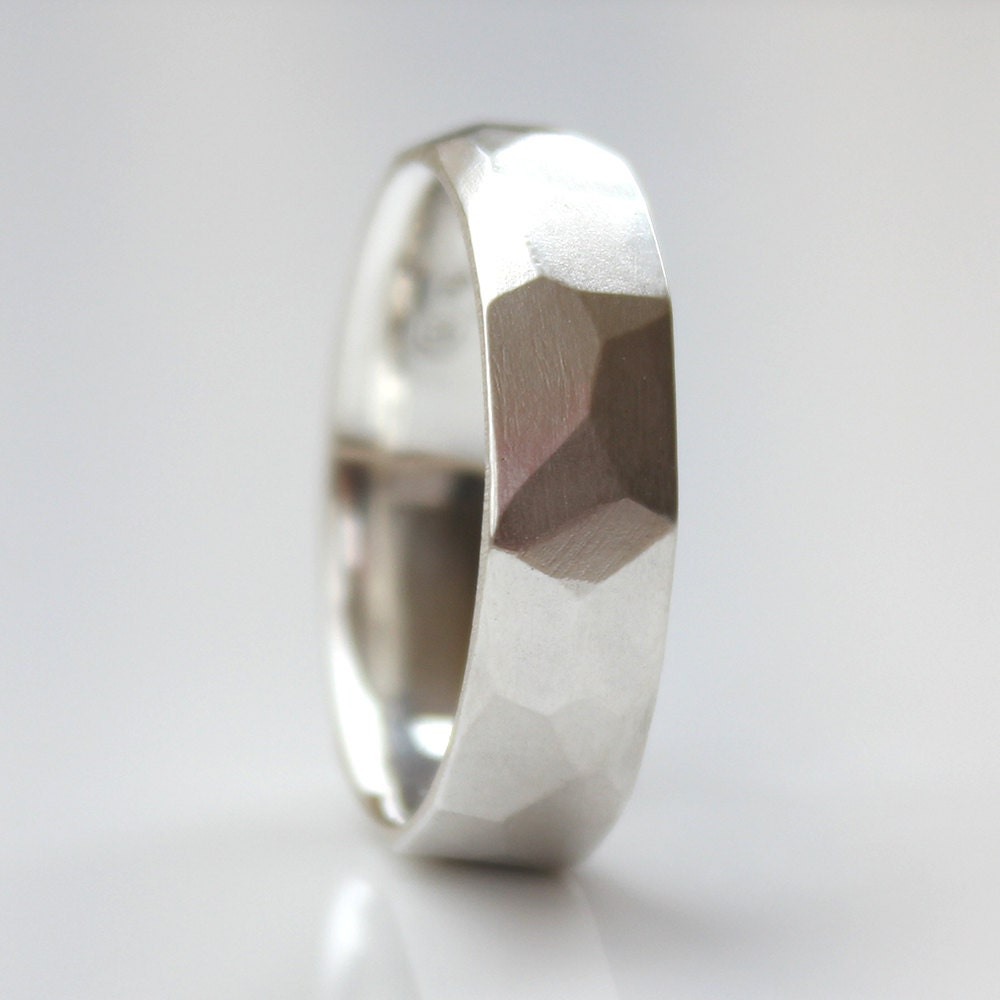 Mens Wedding Band Mens Modern Wedding Ring