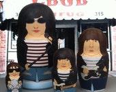 The Ramones Matryoshka Dolls