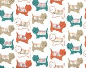 "Dog Flannel Fabric -40"" x 18"" - brand new, prewashed"
