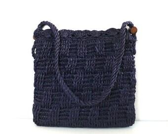 Vintage Made in Japan Crochet Purse