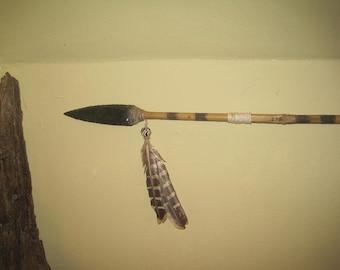 tribal custom spear replica