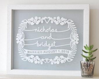 Personalized Wedding Gift, newlywed gift, wedding shower gift, wedding gift for couple, bridal shower gifts, gift for couples, gifts bride
