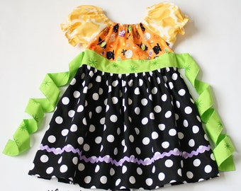 Trick or Treat Peasant dress / Size 12m - 6