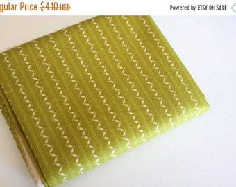 SuperBowl Sale Ansonia from Denyse Schmidt, Fine Stripe Mossy 1/2 yard total
