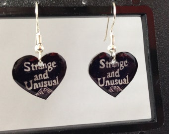 Beetlejuice Lydia Deetz Strange and Unusual Dangle Earrings
