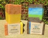 SUNSHINE and BLUE SKY Handmade Soap