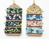 Japanese Washi Masking Tape-Curated Tape Tags - Beautiful 15mm Flowers Collect All or Make Your Own! Perfect for Tape Collector