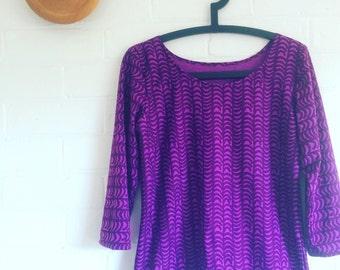 Marimekko Fabric Jersey Top