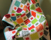 Lap Quilt Hot Spots Poems from Pebbles Moda Malka Dubrawsky