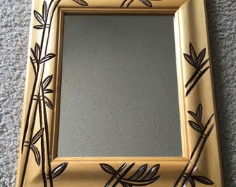Bamboo Design Mirror