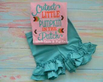 Cutest Little Pumpkin in the Patch - Cutest Pumpkin - New Pumpkin