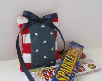 Balsam Sachet in Patriotic Red, White, and Blue