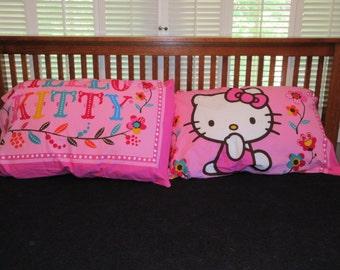 Hello Kitty Pillowcase Pair