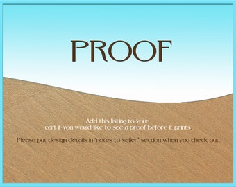 DESIGN PROOF - CUSTOM  Proof- writing in the sand- Natures Notebook by Courtney Noelle