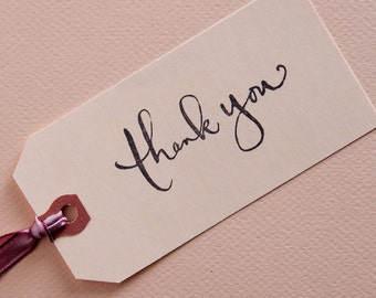 Calligraphy Thank you Stamp