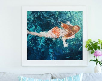 Lagoon Verde:  LARGE FORMAT PRINT Limited Edition & Various sizes