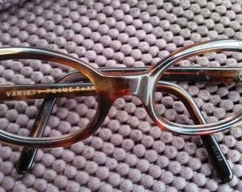 Vintage Cat Eyeglasses Frames Modernist deco France