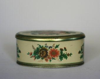 vintage meister tin made in brazil