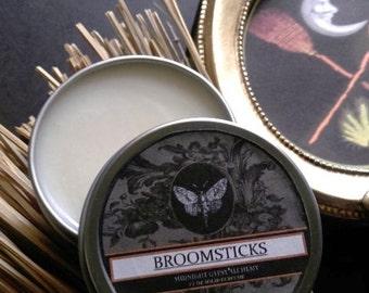 Broomsticks Natural Solid Fall Perfume Gypsy Apothecary Genet(Broom) Labdanum,Sandalwood,Clove Leaf,Myrrh, Cinnamon Basil