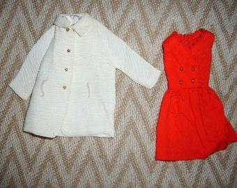 Vintage Skipper Dress & Coat-Cute