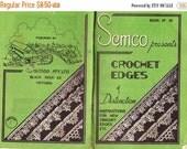 ON SALE Vintage 1940s SEMCO Crochet Edges of Distinction Book No 14 Patterns Booklet