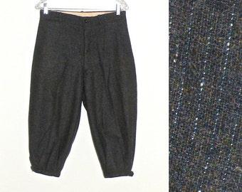 1920s Men's Wool Knickers, Vintage 20s Pants Knickerbockers