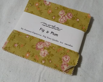 Fig and Plum charm pack - fig tree quilts OOP VHTF
